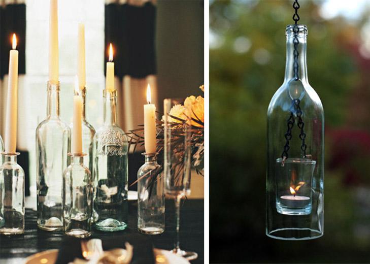 Arts and crafts el blog de this is kool - Botellas con velas ...